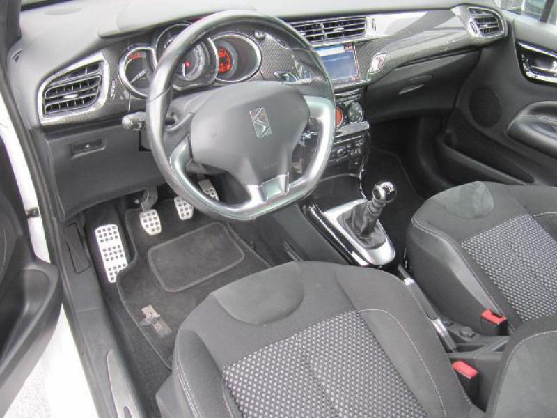 citroen ds3 sport chic 1 6 hdi 112cv 59181 km. Black Bedroom Furniture Sets. Home Design Ideas