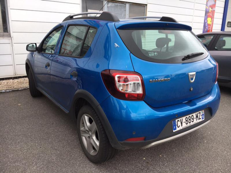 dacia sandero ii stepway prestige plus 90cv 49000 km. Black Bedroom Furniture Sets. Home Design Ideas