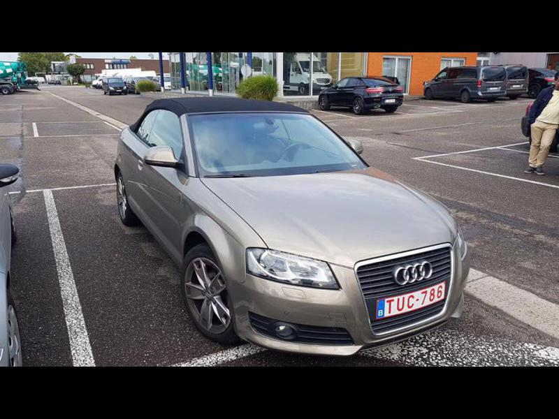 audi a3 cabriolet ambition 1 9tdi 105 65379 km. Black Bedroom Furniture Sets. Home Design Ideas