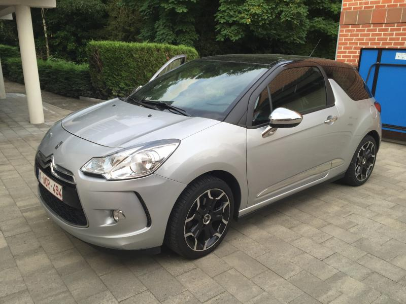 citroen ds3 sport chic 1 6 thp 16v 156 62337 km. Black Bedroom Furniture Sets. Home Design Ideas