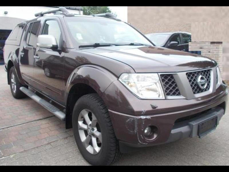 nissan navara double cabine 2 5 dci 171 4wd 165000 km. Black Bedroom Furniture Sets. Home Design Ideas