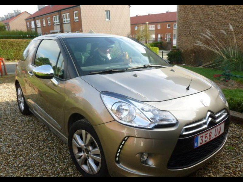 citroen ds3 so chic 1 6 vti 16v 120 bva 18506 km. Black Bedroom Furniture Sets. Home Design Ideas